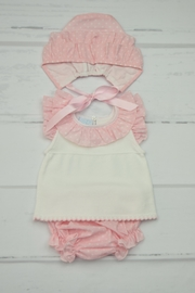 Granlei 1980 Pink & White Outfit - Front cropped
