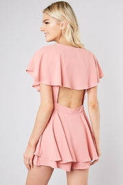 Do & Be Pink Wrap Playsuit - Side cropped