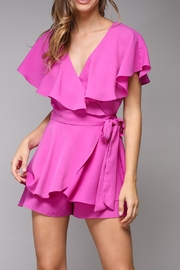 Do & Be Wrap Around Romper - Front cropped