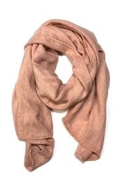 Lets Accessorize Pink Wrap Scarf - Product Mini Image