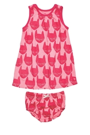 Pink Chicken Kitty Infant Set - Product Mini Image