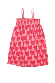 Pink Chicken Kitty Toddler Dress - Product Mini Image