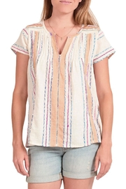 Pink Chicken Marlow Striped Top - Product Mini Image