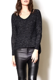 Pink Martini Black Hi/low Pullover - Product Mini Image