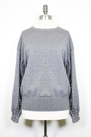 Pink Martini Cozy Nights Sweater - Front cropped