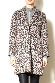 Pink Martini Leopard Print Jacket - Front cropped