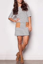 Pink Martini Striped Dress - Product Mini Image