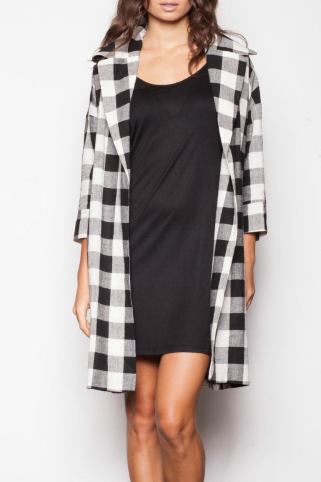 Pink Martini Plaid Trench Coat from Canada by Belle's Boutique ...
