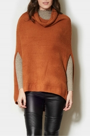 Pink Martini Rust Poncho - Product Mini Image