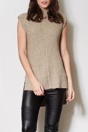 Pink Martini Sleeveless Knit  Sweater - Product Mini Image