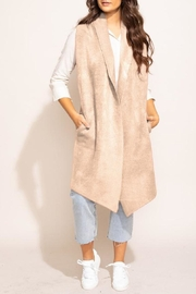 Pink Martini Stockport Vest In Beige - Product Mini Image
