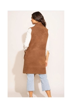 Pink Martini Stockport Vest In Brown - Alternate List Image