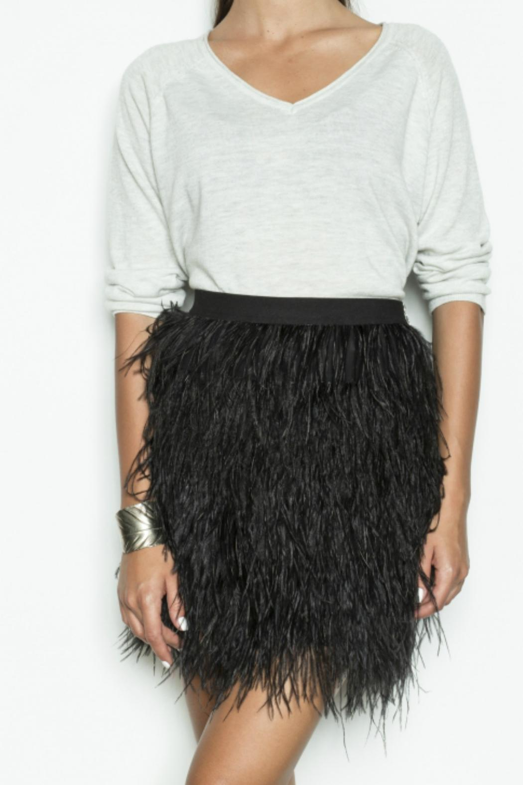 d87ca311564 Pink Martini Collection Black Feather Skirt from Canada by Archer+ ...