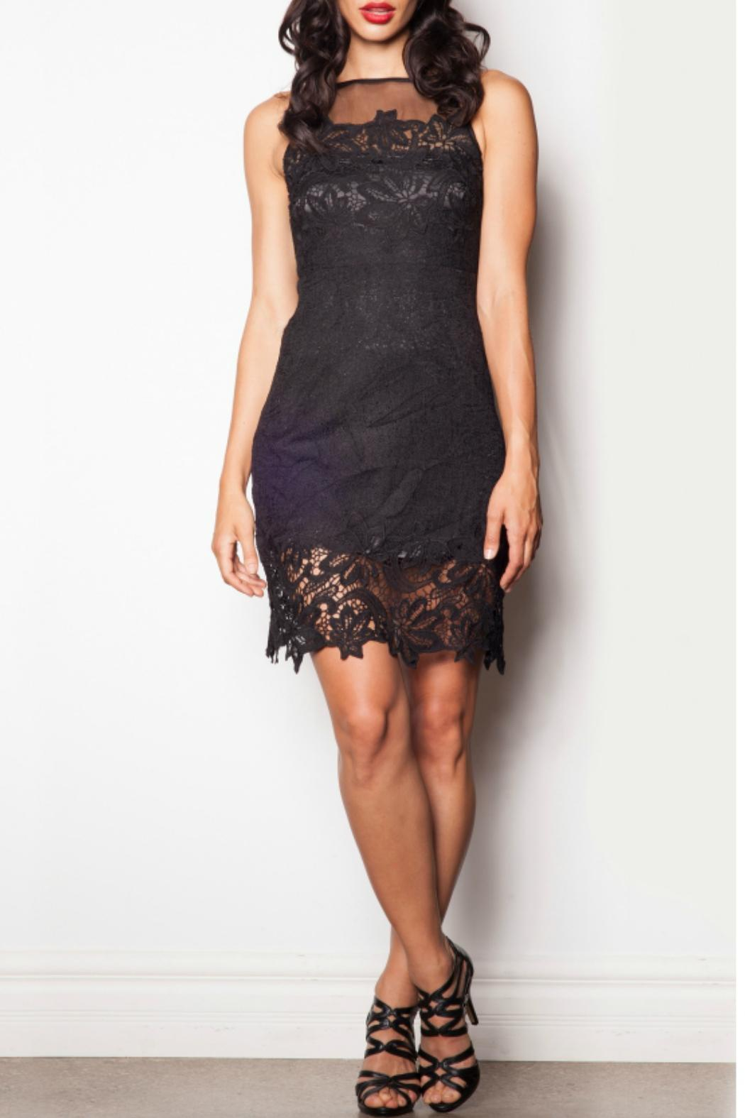 Pink Martini Collection Black Lace Dress - Main Image