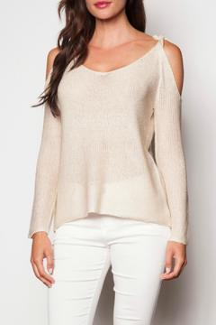 Pink Martini Collection Cold Shoulder Sweater - Product List Image