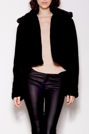 Pink Martini Collection Faux Fur Jacket - Front cropped