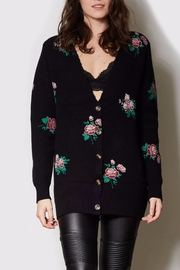 Pink Martini Collection Floral Cardigan - Front cropped