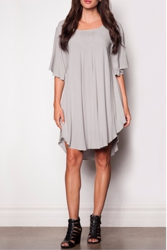 Pink Martini Collection Flowing Grey Dress - Product List Image