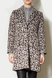 Pink Martini Collection Leopard Trench Coat - Product Mini Image