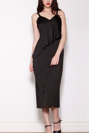 Pink Martini Collection Long Black Dress - Product Mini Image