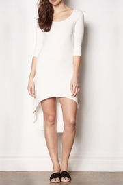 Pink Martini Collection White Lounge Around Dress - Front cropped