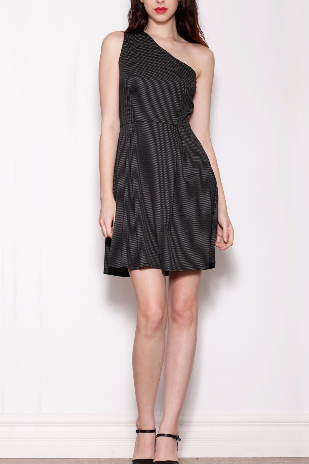 Pink Martini Collection One Shoulder Dress - Main Image