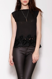 Pink Martini Collection Sheer Flowy Top - Front cropped
