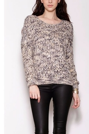 Pink Martini Collection Shiny Knit Sweater - Product Mini Image