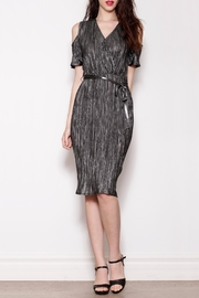 Pink Martini Collection Silver Holiday Dress - Product Mini Image