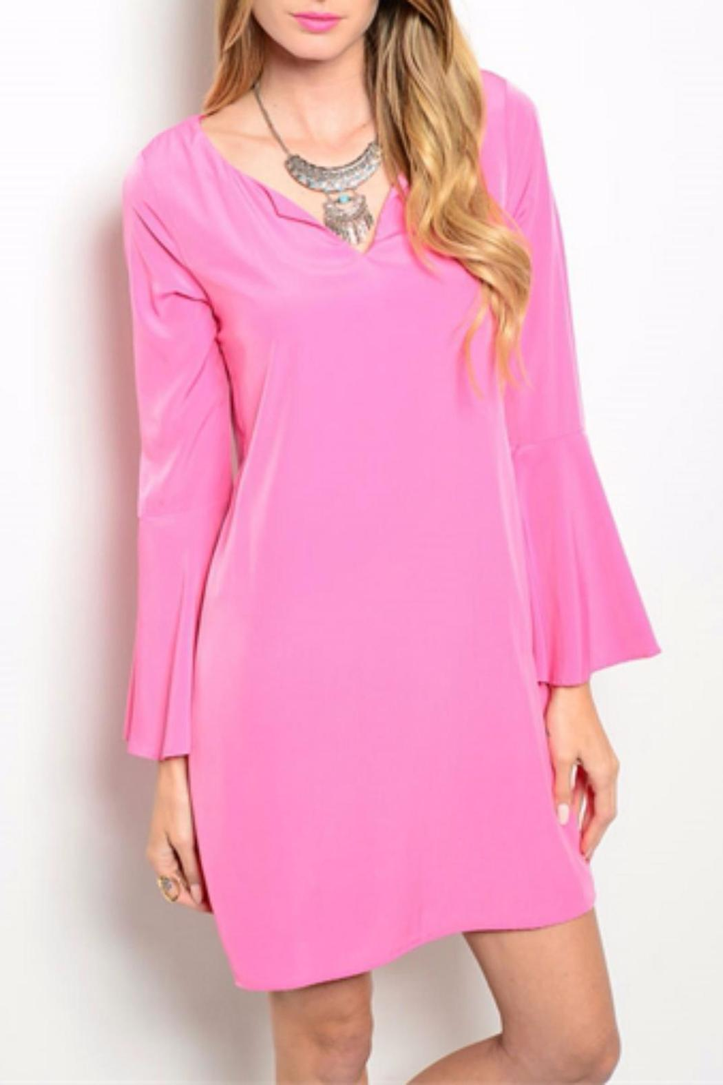 Pink Owl Pink Tunic Dress from Michigan by HUMANITY — Shoptiques