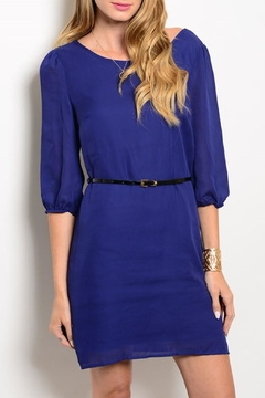 Pink Owl Apparel  Blue Classy Dress - Product List Image
