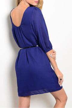 Pink Owl Apparel  Blue Classy Dress - Alternate List Image