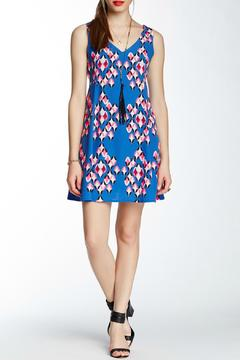 Pink Owl Apparel  Blue Geometric Dress - Product List Image