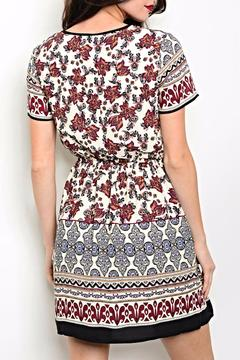 Pink Owl Apparel  Printed Short Dress - Alternate List Image