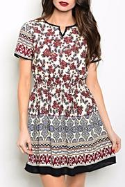 Pink Owl Apparel  Printed Short Dress - Product Mini Image