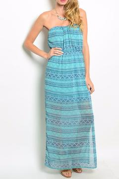 Shoptiques Product: Teal Navy Dress