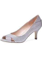 pink paradox London Adele Silver Glitter - Front cropped