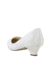 pink paradox London Bonbon Ivory Lace Shoes - Side cropped