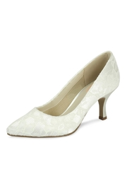 pink paradox London Cameo Ivory Lace Shoes - Product Mini Image