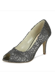 pink paradox London Cosmos Slate Lace Stiletto - Front cropped