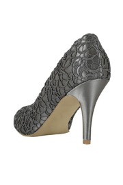 pink paradox London Cosmos Slate Lace Stiletto - Side cropped