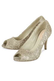 pink paradox London Cosmos Taupe Lace - Front full body