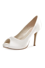 pink paradox London Dream Ivory Satin Stiletto - Product Mini Image