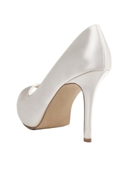 pink paradox London Dream Ivory Satin Stiletto - Side cropped