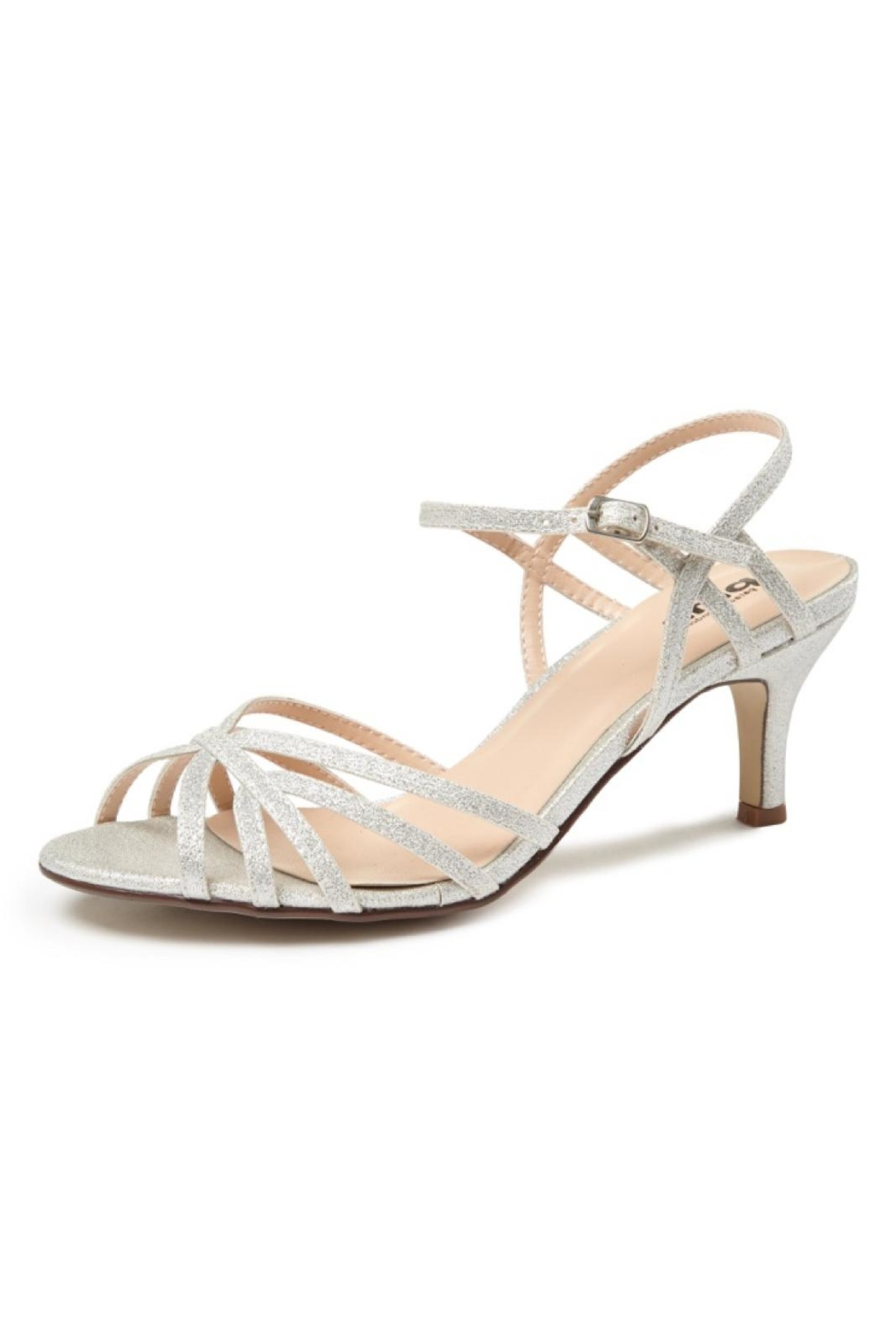 pink paradox London Harper Silver Sandal - Front Cropped Image