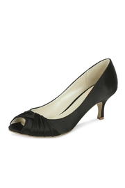 pink paradox London Black Satin Heel - Product Mini Image