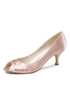 Shoptiques Product: Blush Satin Heel