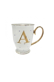 Pink Poodle Boutique Alphabet Spotty Mug - Product Mini Image
