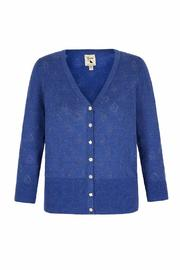 Pink Poodle Boutique Boat Pointelle Cardigan - Product Mini Image
