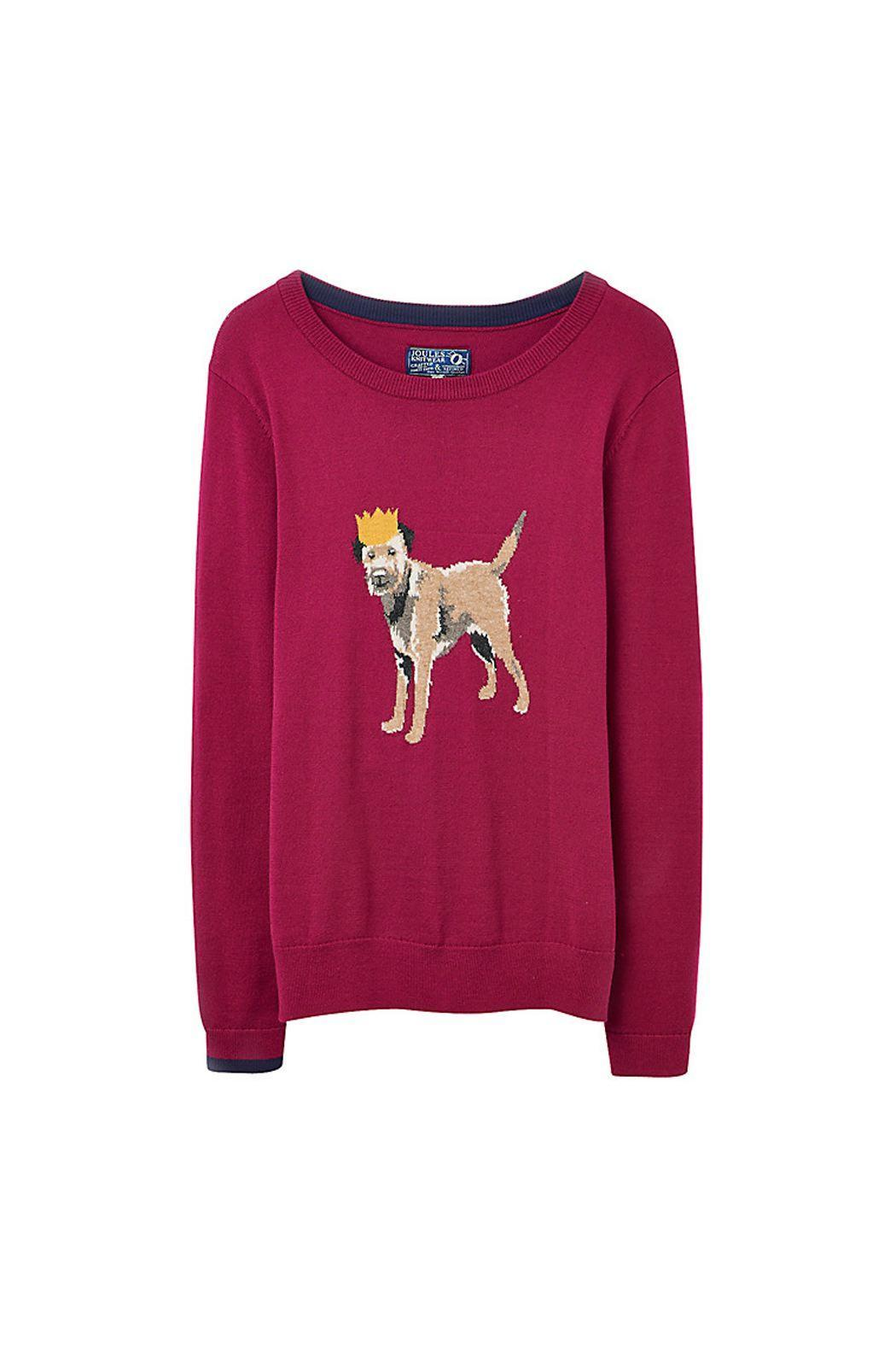 Pink Poodle Boutique Border Terrier Jumper From Glasgow By